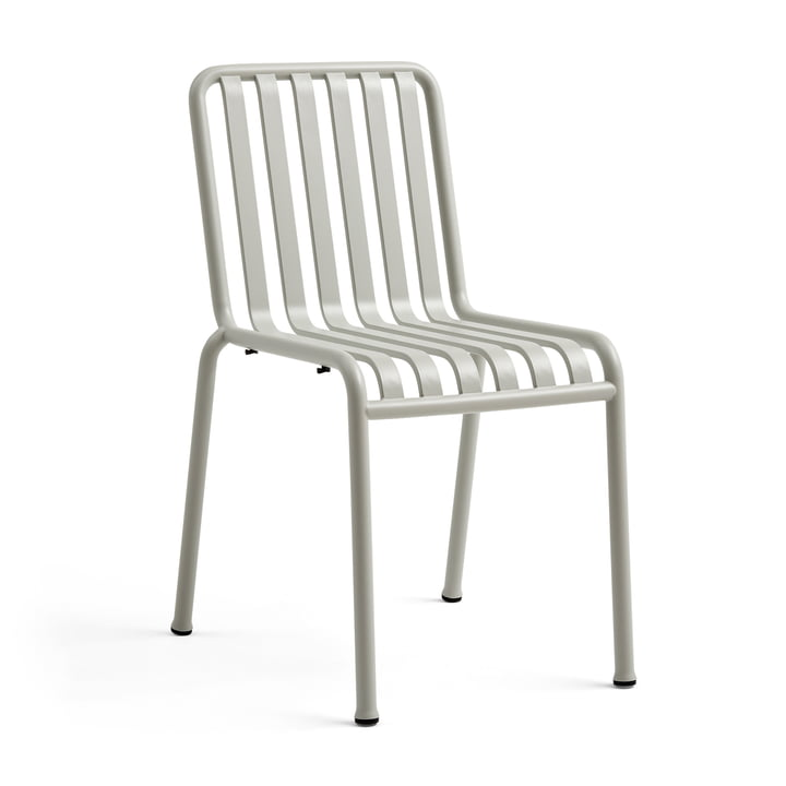 The Hay Palissade chair in light grey
