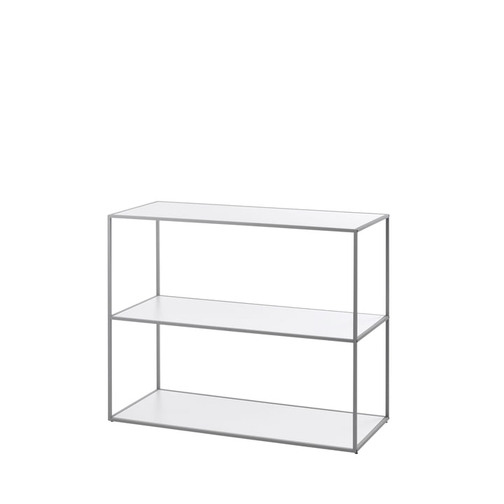 by Lassen - Twin Bookshelf small (3 shelves), grey