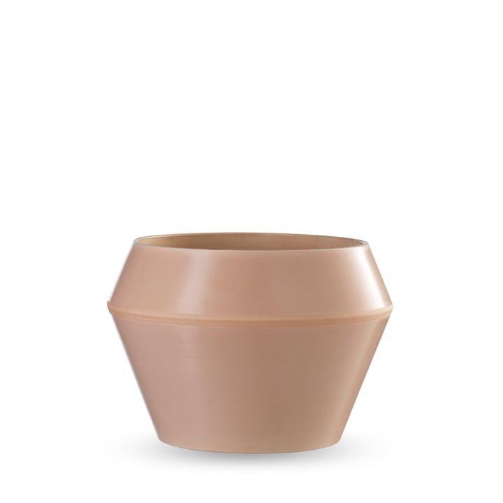 by Lassen - Rimm flowerpot medium, camel