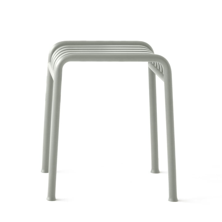 The Palissade stool by Hay in light grey