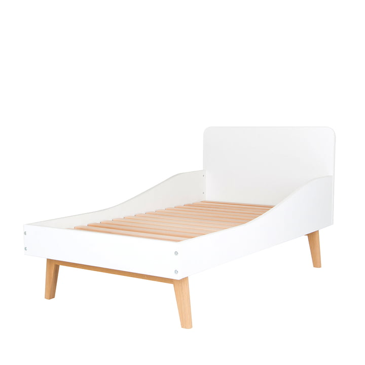 debe.deline Children's Bed by de Breuyn with slatted frame