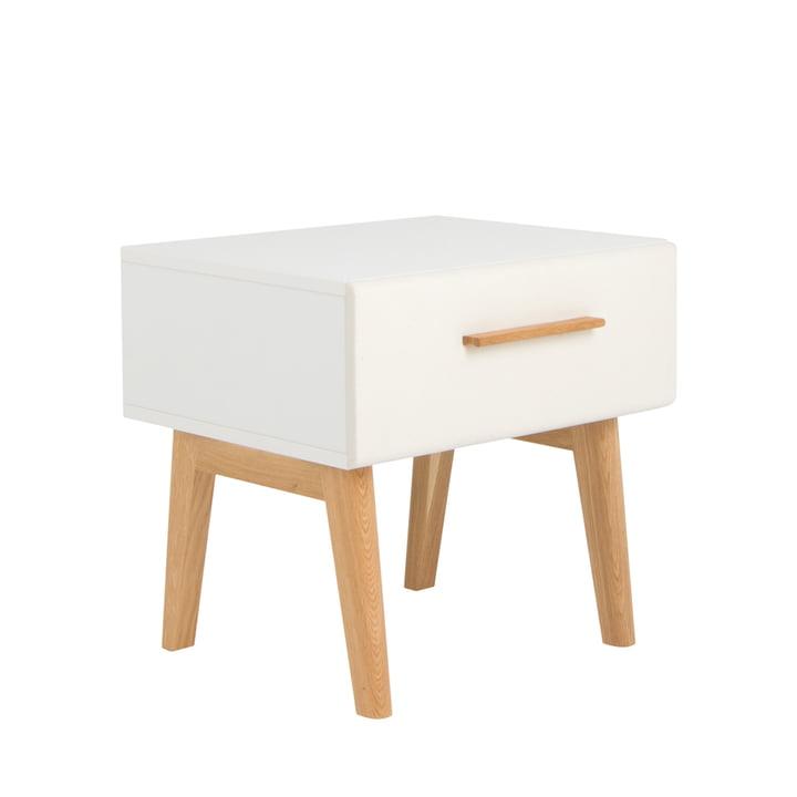 debe.deline Beside Table with drawer by de Breuyn in beige