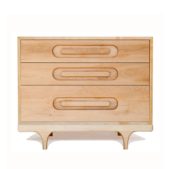 Caravan drawers by Kalon, made of maple