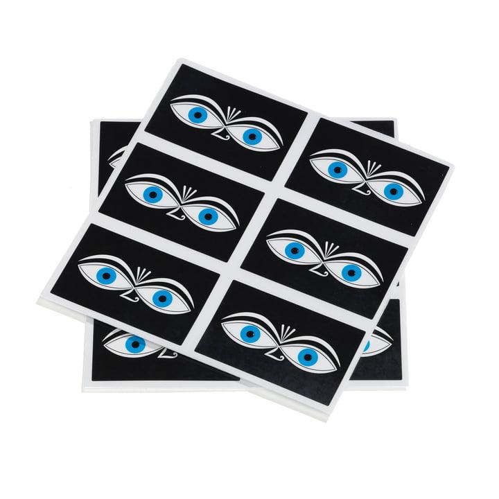 Sticker Eyes by Vitra in blue