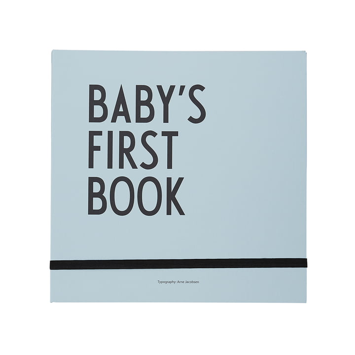 Baby's First Book from Design Letters in blue