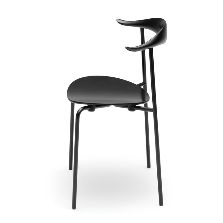 Carl Hansen - CH88T, oak smoked / frame: black powder-coating