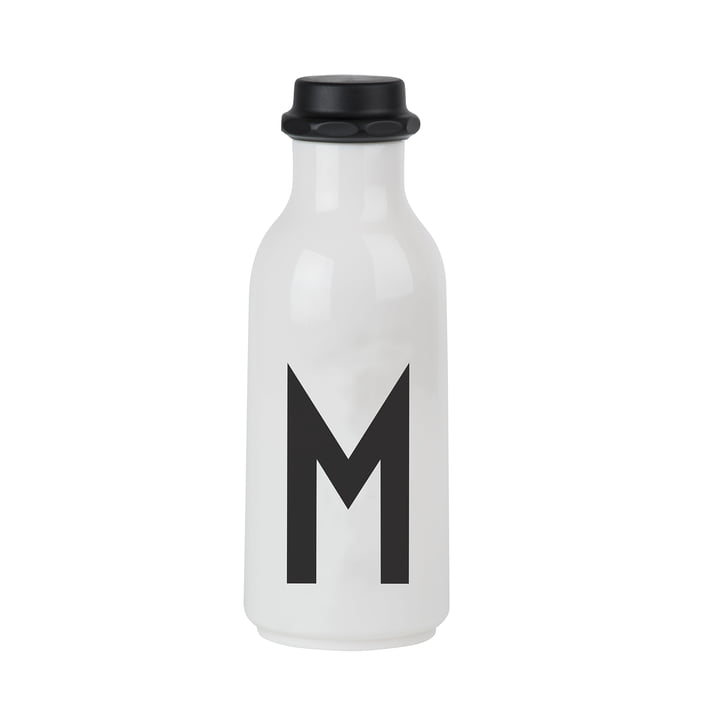 Design Letters - Water Bottle from A-Z, M