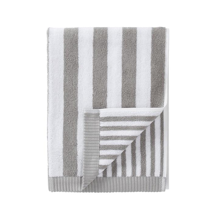Marimekko - Kaksi Raitaa Towel 50 x 100 cm, grey / white