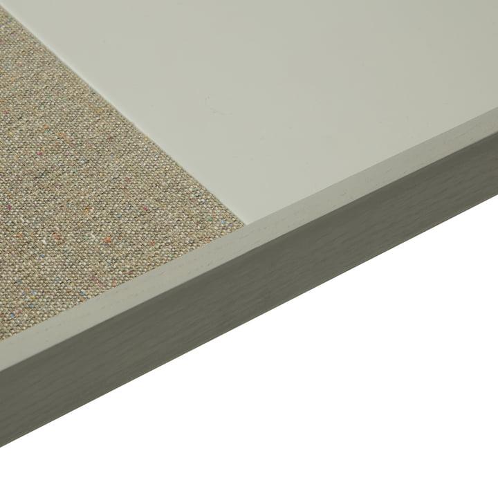 Frame pin board by ferm Living in grey