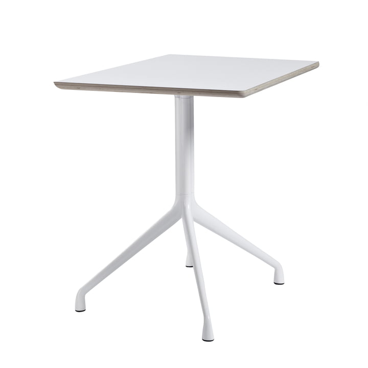 Hay - About A Table AAT 15 bistro About A Table 80 x 80 cm H73 cm, white