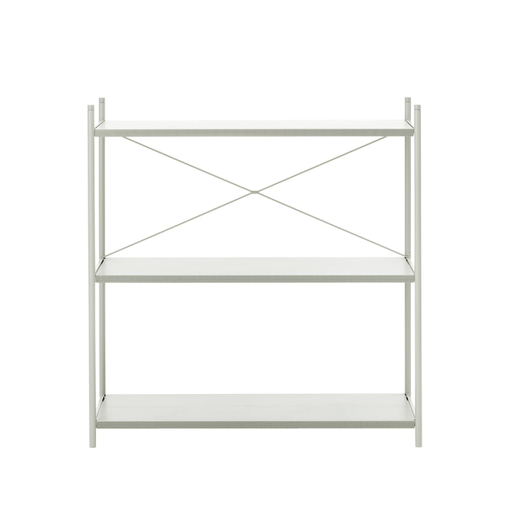 Punctual Shelving System 1x3 by ferm Living in Grey