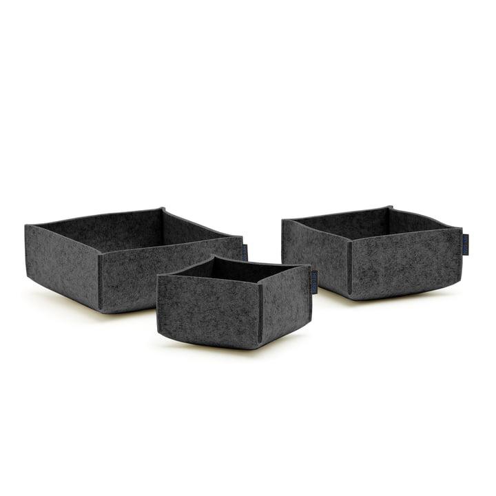 Hey Sign - Box Set 3 (set of 3), anthracite
