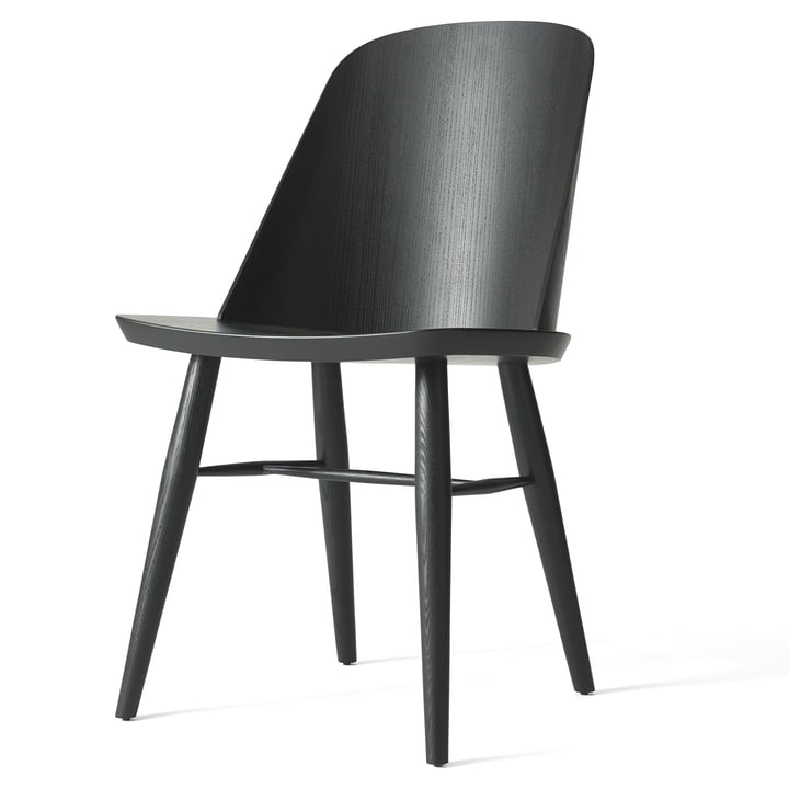 The Synnes Chair by Menu in black ash
