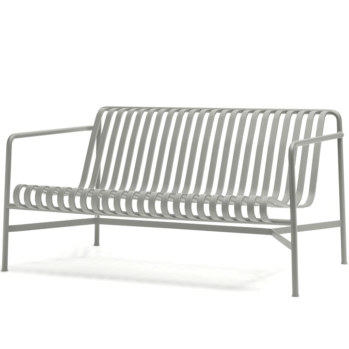 The Palissade lounge sofa by Hay in light grey