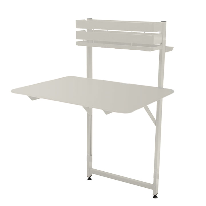 Fermob - Bistro Balcony Table, cotton white