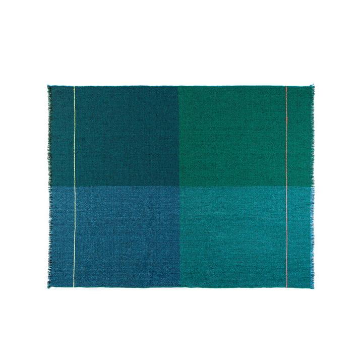 Zuzunaga - Quaternio Blue Throw, 140 × 180 cm