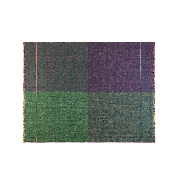 Zuzunaga - Quaternio Yellow Throw, 140 × 180 cm