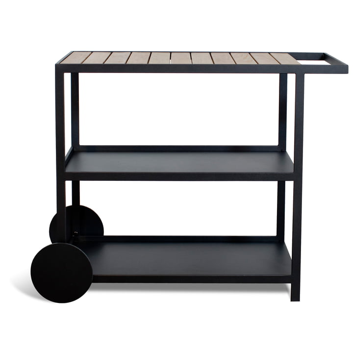 Garden Trolley from Röshults in anthracite
