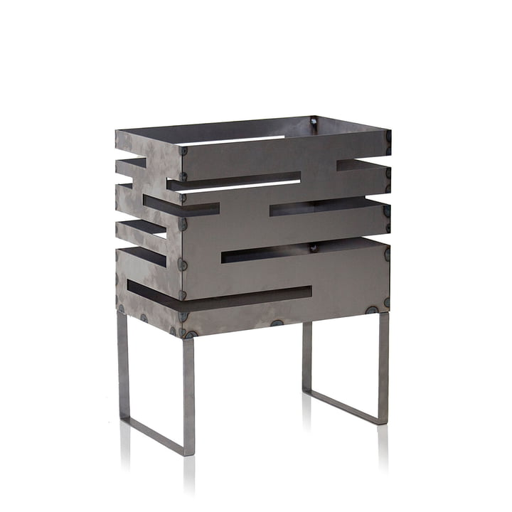 Urban fire basket 50 by Röshults made from untreated steel