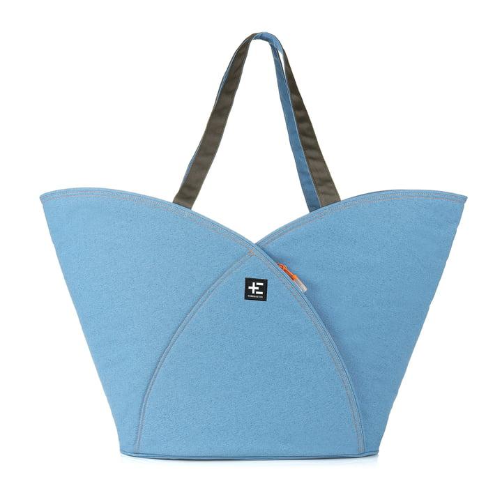 Pua Kopu Beach Bag by Terra Nation in blue