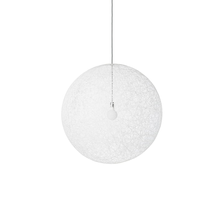 Random Light LED pendant light, small white by Moooi