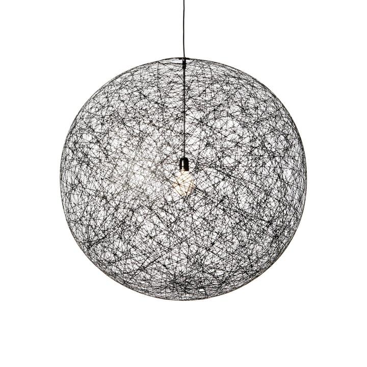 Random Light LED pendant light, medium, black by Moooi