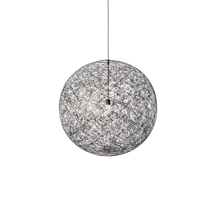 Moooi - Random Light LED Suspension Lamp, large, black