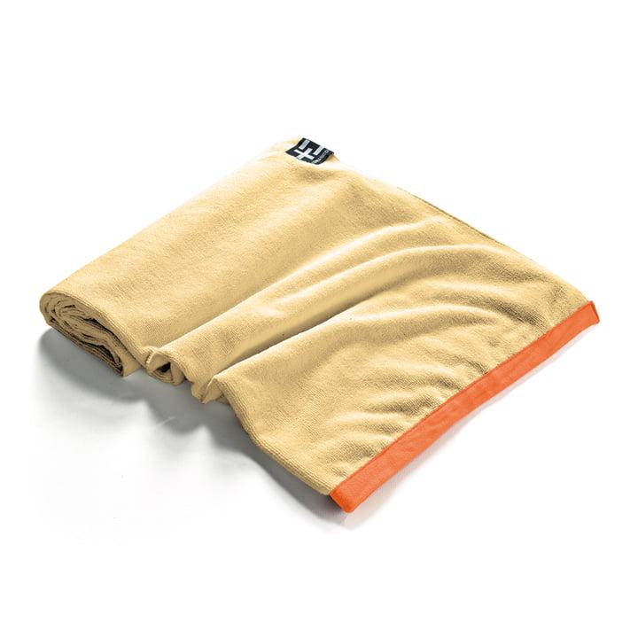 Agi Moe Towel by Terra Nation in yellow