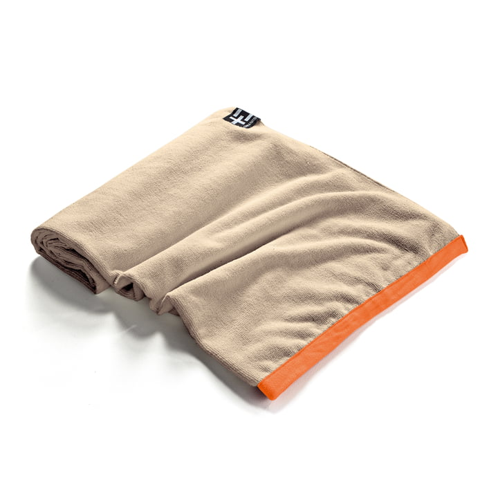 Agi Moe Towel by Terra Nation in brown