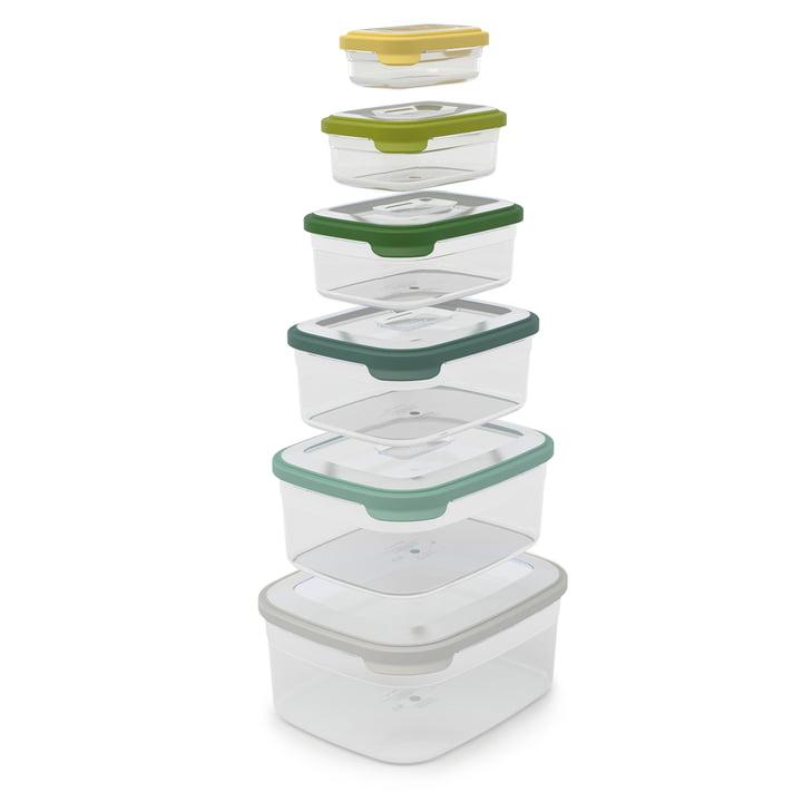 Joseph Joseph - Nest Storage 6pcs. Storage Boxes Set, opal