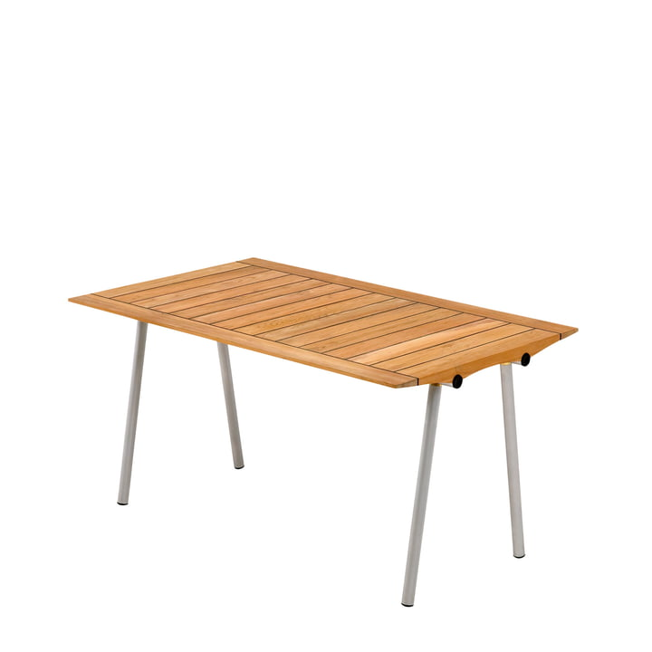 Skagerak - Ocean Table 142cm, teak wood with rubber joints