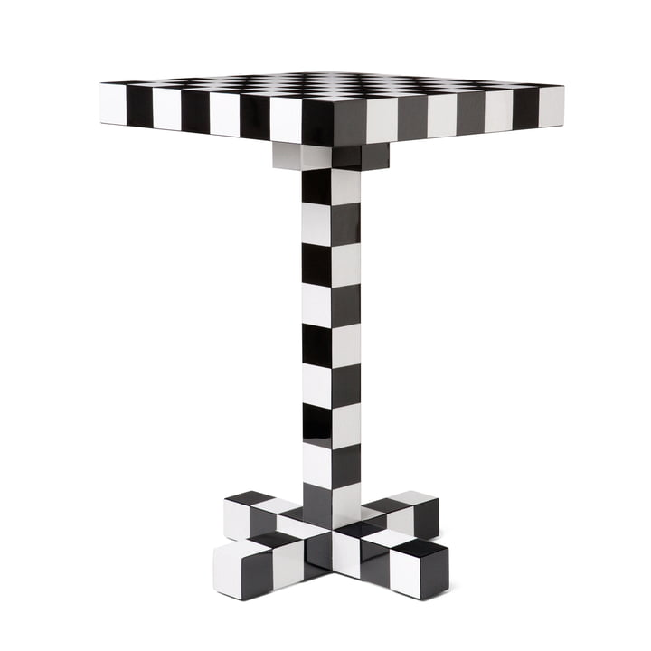 Chess Table by Moooi with Chess Pattern