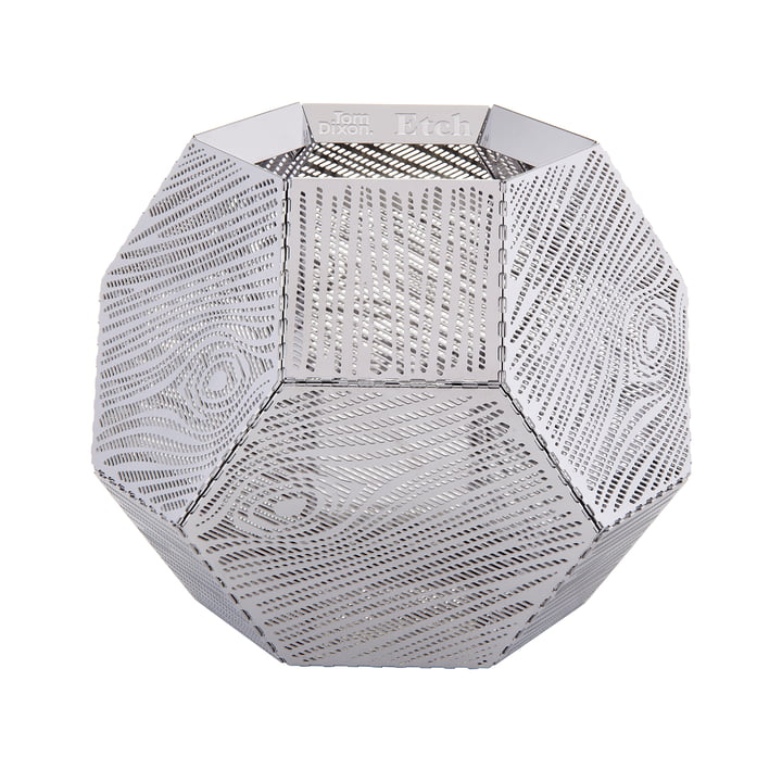 Etch Tealight Holder ETT03 by Tom Dixon made of stainless steel