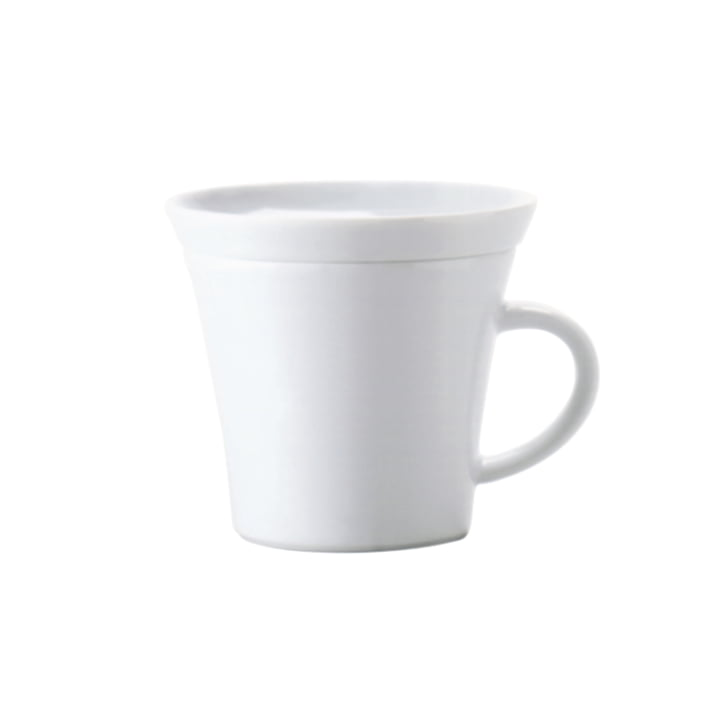 Kahla - Update, cappuccino mug, 0.22 L, white