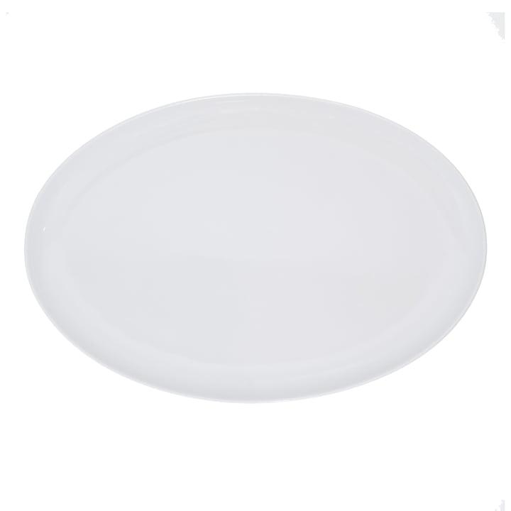 Kahla - Update, antipasti plate oval, 34 cm, white