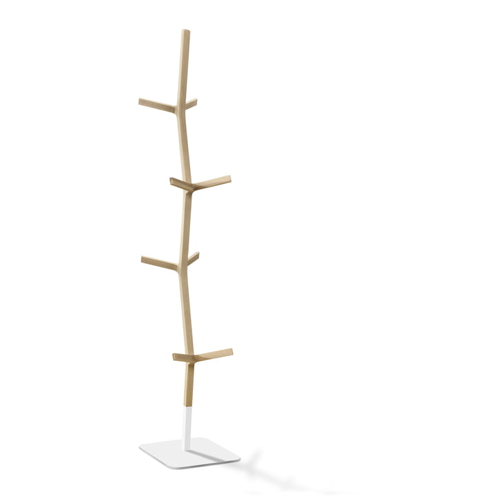 Nara clothes rack by Fredericia made of oak