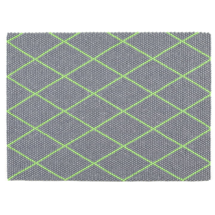 Hay - S&B Dot Carpet, 150 x 200cm, Electric Green