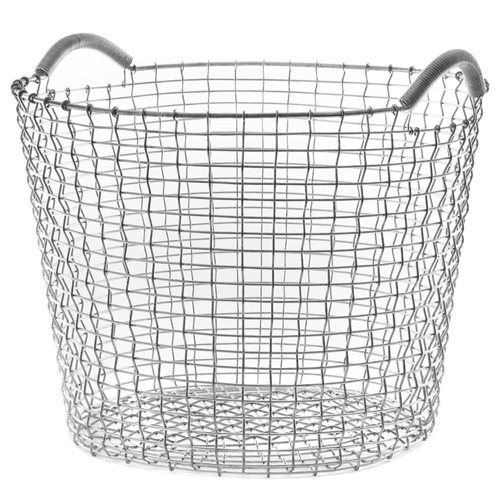 Classic 50 wire basket by Korbo made of stainless steel