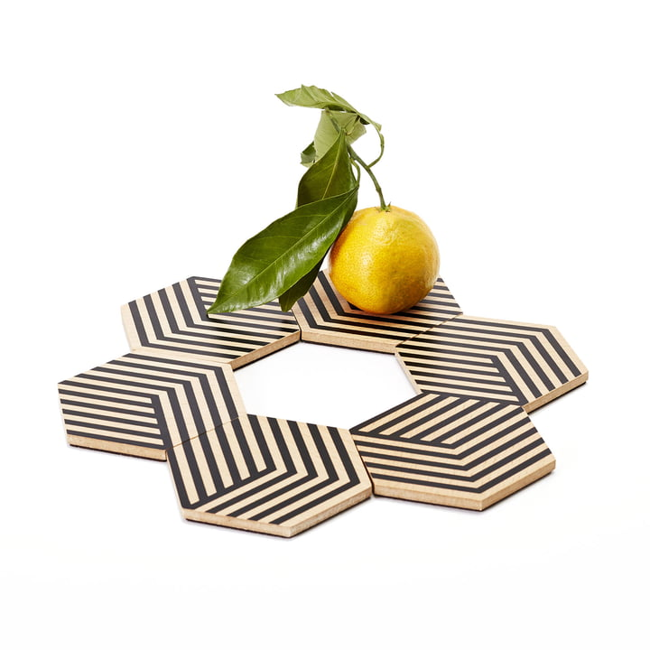 Table Tiles Optic by Areaware
