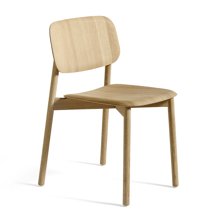 Hay - Soft Edge chair in matte lacquered oak
