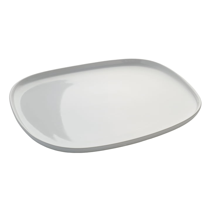 Ovale Tray by Alessi in rectangular shape