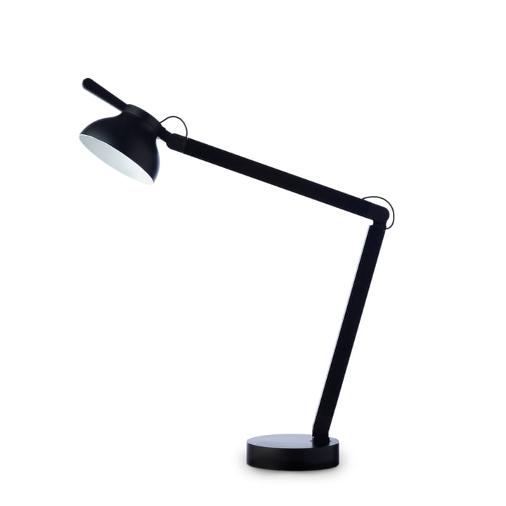 PC Double Arm LED Table Light from Hay in often black