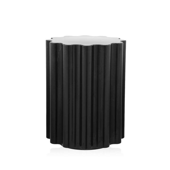 Colonna stool / side table by Kartell in black