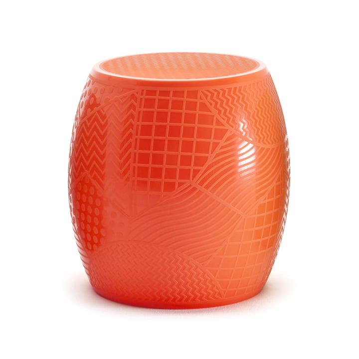 Roy stool by Kartell in orange