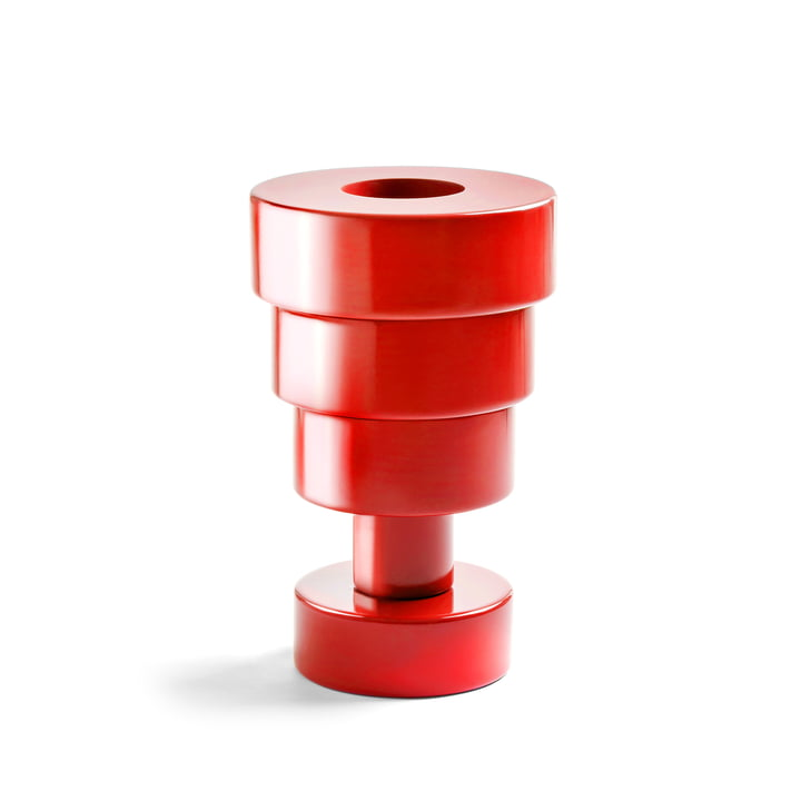 Calice Vase by Kartell in red