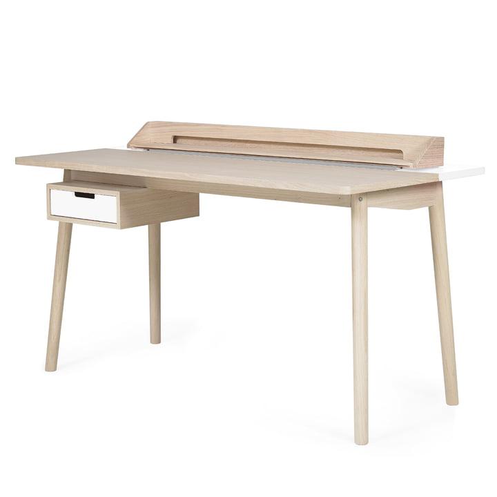 Honoré Desk by Hartô in white (RAL 9016)