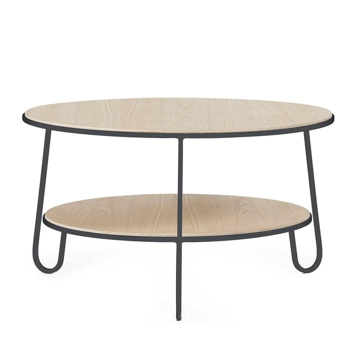 Eugénie Coffee table by Hartô in grey (RAL 7016)