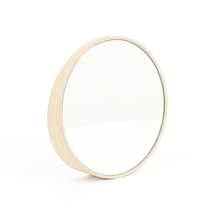 Odilon mirror 40 cm by Hartô in natural oak