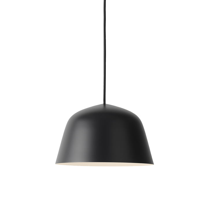 The Ambit Pendant Lamp Ø 25cm in black by Muuto