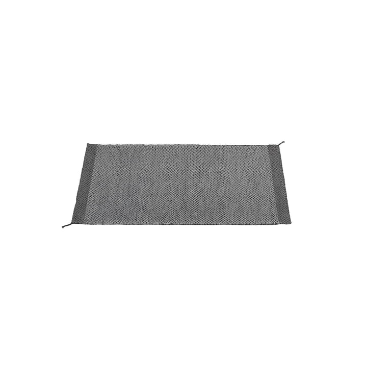 The Ply rug 85 x 140cm in dark grey by Muuto